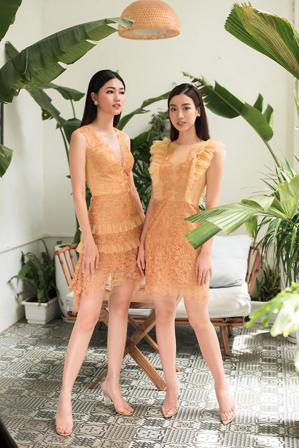 Đỗ Mỹ Linh, Thanh Tú khoe sắc cùng váy ren