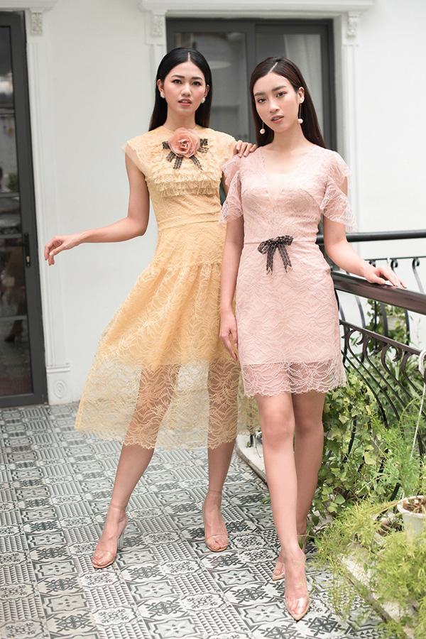 Đỗ Mỹ Linh, Thanh Tú khoe sắc cùng váy ren - 8