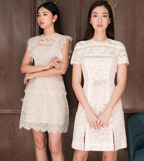 Đỗ Mỹ Linh, Thanh Tú khoe sắc cùng váy ren - 3