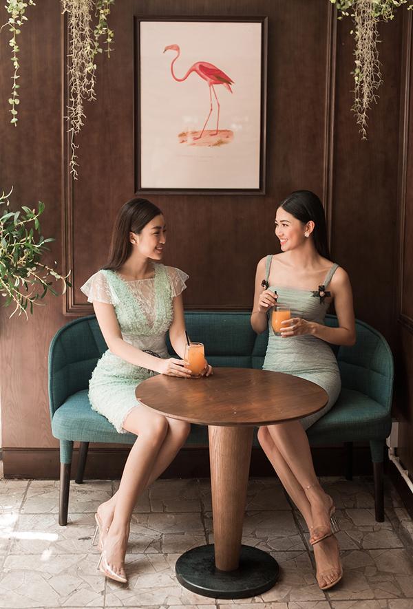 Đỗ Mỹ Linh, Thanh Tú khoe sắc cùng váy ren - 5