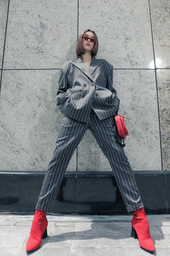 Mlee kéo dài đôi chân nhờ loạt trang phục hợp mốt - 10