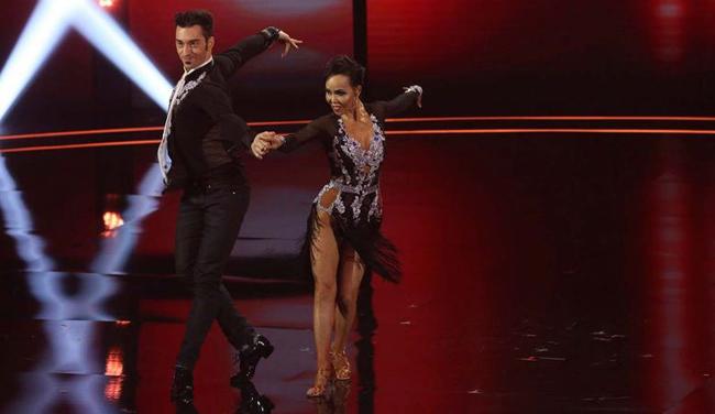 Màn khiêu vũ của đôi nhảy Quin và Misha.