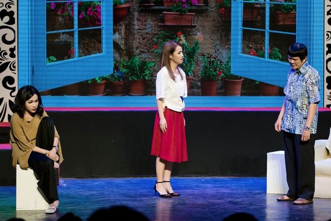 Ca sĩ Vũ Hà giả gái, mong ước có bầu trong minishow của Gia Bảo - 10