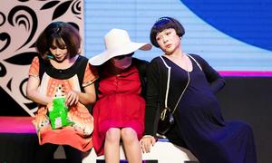 Vũ Hà gây cười với vai chuyển giới trong show Gia Bảo