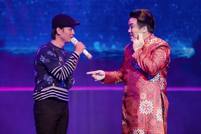 Ca sĩ Vũ Hà giả gái, mong ước có bầu trong minishow của Gia Bảo - 7