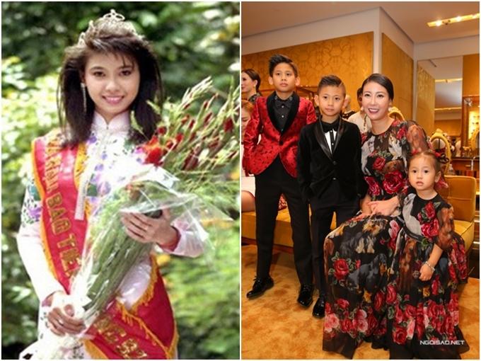 Hà Kiều Anh là người đẹp trẻ nhất từng lên ngôi Hoa hậu Việt Nam. Cô đăng quang năm 1992 khi mới 16 tuổi.Năm 1993, cô tiếp tục tham dự cuộc thi Hoa hậu Sinh viên Thế giới tổ chức tại Hàn Quốc và đoạt danh hiệu Miss Tejon. Sau biến cố hôn nhân đầu tiên, hiện cô sống hạnh phúc với gia đình nhỏ gồm hai trai một gái. Ở tuổi 42, cô vẫn giữ được sự trẻ trung, rạng ngời. Năm 2018, cô là một trong ba Hoa hậungồi ghế nóng cuộc thi Hoa hậu Việt Nam.