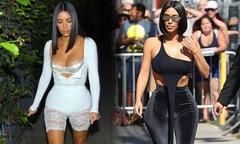 Kim Kardashian liên tục bị chê mặc xấu
