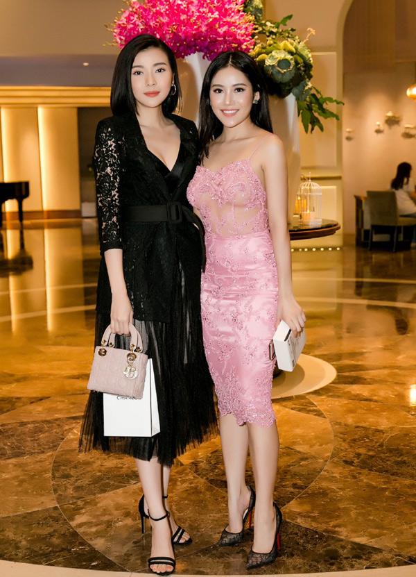 Diễn viên Cao Thái Hà đến chung vui với Milan Phạm.