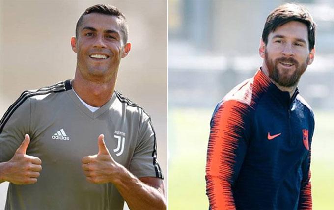 C. Ronaldo làm ông chủ sẽ tốt hơn Messi