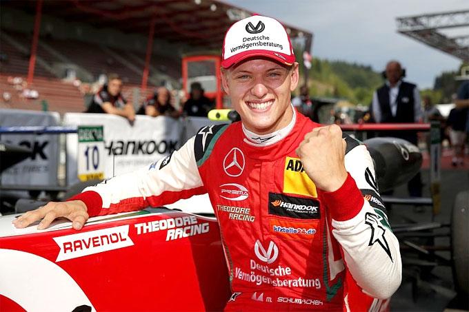 Mick Schumacher bước đầu có thành công ở tuổi 19. Ảnh: NN.