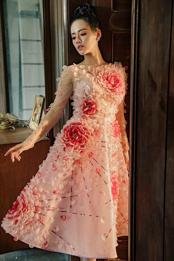 Đỗ Long giới thiệu loạt váy dạ hội đính kết kỳ công - 6