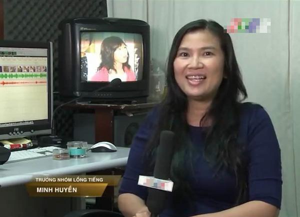 Minh Huyền, người lồng tiếng vai Phú Sát Hoàng hậu.