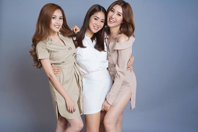 Ba chị em Lê Phương - Thúy Ngân - Phương Hằng thân thiết ngoài đời - 9