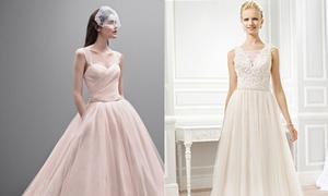 Cách lựa chọn váy cưới 'chuẩn chỉnh' cho từng vóc dáng