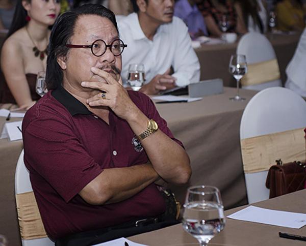 NSƯT Bùi Cường tại một buổi họp báo tại TP HCM năm 2014.