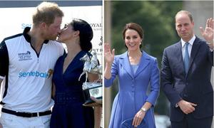 Sự khác biệt trong cách thể hiện tình yêu của Harry-Meghan và William-Kate