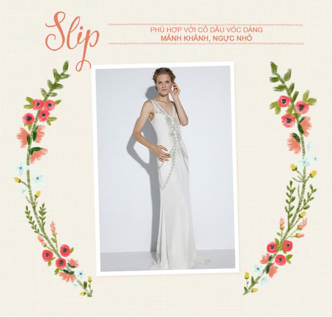 Những mẫu váy cưới kinh điển cho từng vóc dáng - 7