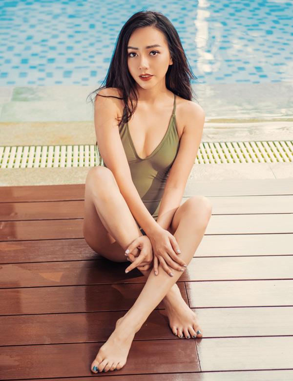 Người đẹp khẳng định tính cách thật của cô khác hẳn nhân vật Nhi trong Gạo nếp gạo tẻ.