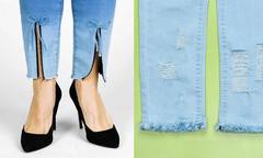 'Bỏ túi' 7 mẹo biến tấu quần jeans nhanh gọn
