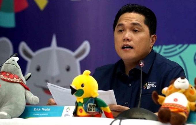 trưởng Ban tổ chức Asiad - Erick Thohir