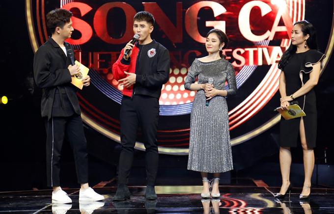 Will đồng hành cùng thí sinh Thu Anh (váy ánh kim) dự thi Nhạc hội song ca mùa hai. Trong đêm thi quyết định để chọn ra cặp đôi được vào bán kết, cả hai tiết lộ sẽ chọn ca khúc Tận cùng.