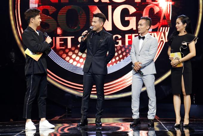 Ngoài Will và Thu Anh, song ca Hồ Trung Dũng - Ngọc Tuấn cũng tranh tài tại show này. Họ biểu diễn ca khúc Bức thư tình đầu tiên.