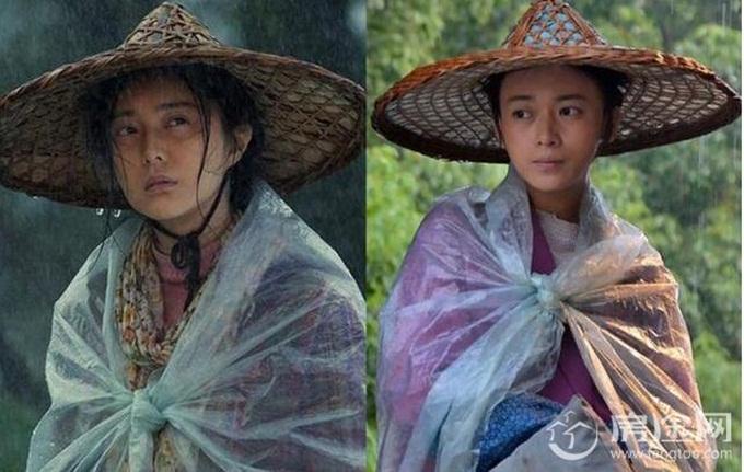 Ngô Cẩn Ngôn đánh mất vai nữ chính trong Tôi không phải Phan Kim Liên cho Phạm Băng Băng (trái).