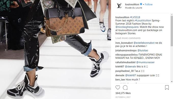 Archlight là dòng sneaker chủ đạo của Louis Vuitton và nhận được nhiều quan tâm của giới đam mê thời trang kể từ khi ra mắt cuối năm 2017.