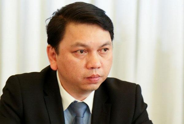 Tổng thư ký VFF Lê Hoài Anh có mặt trong trận đấu diễn ra sự cố. Ảnh: NN.