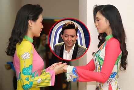 Thí sinh Hoa hậu VN hồi hộp trước giờ thuyết trình với Trấn Thành