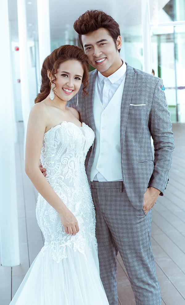 Diễn viên Phương Hằng và ca sĩ Anh Tâm kết hôn từ tháng 3/2017 sau hơn 1 năm hẹn hò.