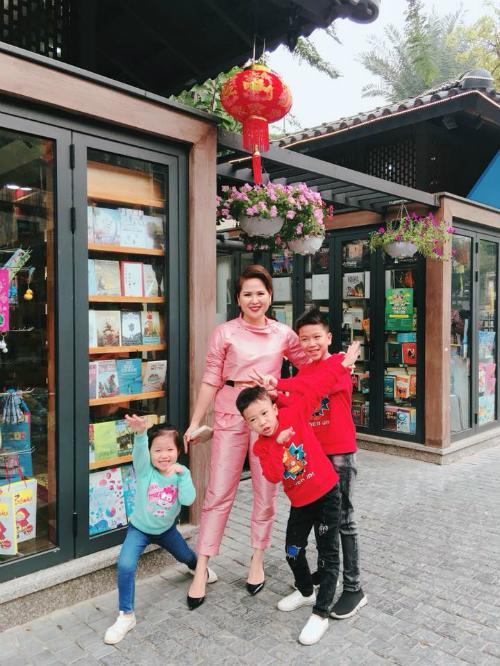 Chị Hà Minh Phúc là một nhà thiết kế thời trang có tiếng ở Hà Nội.