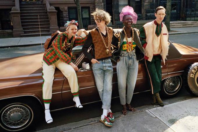 Gucci là thương hiệu thời trang được giới hip hop rất ưa chuộng. Ảnh: Vogue.