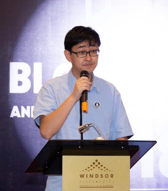 Ông Stewie Zhu - Sáng lập kiêm Tổng giám đốc Distributed Credit Chain (DCC).