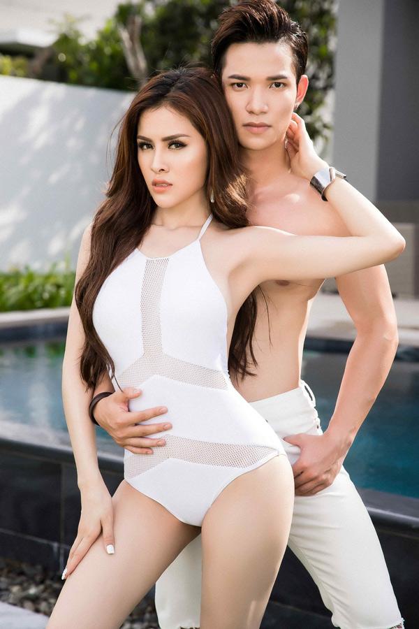Sắp tới Á hậu Miss Eco International sẽ kết hợp cùng Sỹ Hưng - Á quân Người mẫu Thời trang Việt Nam 2017 trong một dự án nghệ thuật. Bộ ảnh do stylist Đinh Thanh Long và chuyên gia trang điểm Minh Chu hỗ trợ thực hiện.