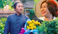 Trấn Thành mang hoa vạn thọ đi 'cầu hôn' Việt Hương
