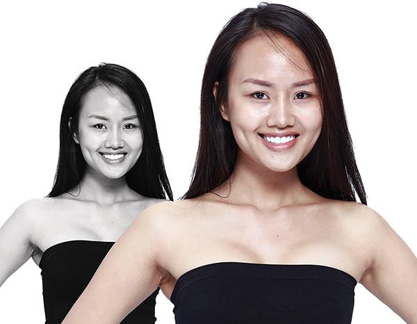 Sau một thời gian ít tham gia các hoạt động thời trang, người mẫu Lâm Thuỳ Anh đánh dấu sự trở lại bằng việc tham gia The Face 2018.