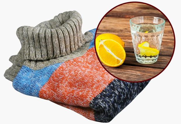 Khử mùi ở trang phụcTrước khi giặt đồ, bạn nhỏ vài giọt nước chanh lên quần áo, mùi khó chịu sẽ biến mất.
