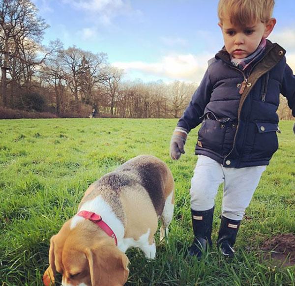 Thời gian rảnh rỗi, Ramsey dành phần lớn để chơi đùa bên cậu con trai Sonny.