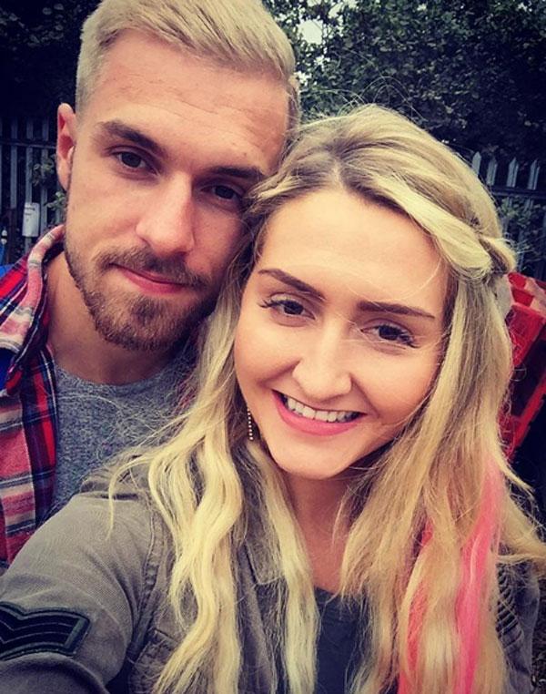 Ramsey và Colleen kết hôn 4 năm trước tại lâu đài Caldicot ở xứ Wales. Cặp đôi có cậu con trai ba tuổi tên là Sonny. Hai người khá kín tiếng, ít khi chia sẻ về cuộc sống cá nhân.