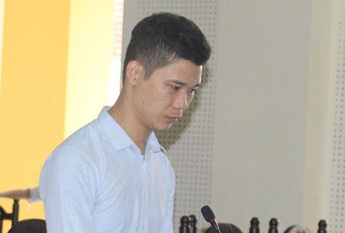 Lưu Văn Đức tại tòa hôm nay.