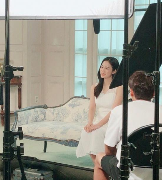 Kim Tae Hee béo lên rõ rệt.