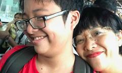 MC Thảo Vân và con trai cả đêm khó ngủ vì giận nhau