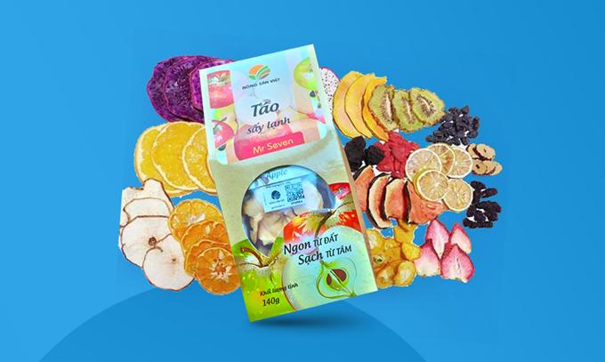 Detox hoa quả sấy lạnh có giá từ 12.000 đồng. Sản phẩm được kiểm định, trải qua quy trình sản xuất nghiêm ngặt trước khi đưa đến tận tay người tiêu dùng.