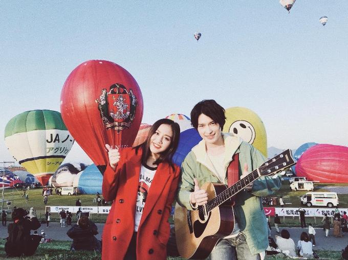 Khung cảnhthơ mộng tại Lễ hội Khinh khí cầu lớn nhất Nhật Bản ở Saga.