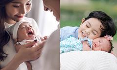 Vẻ đáng yêu khi mới sinh của nhóc tỳ nhà sao Việt