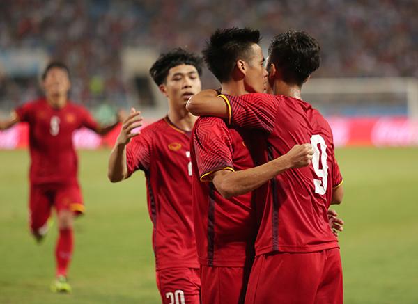 Bàn thắng của Văn Đứcgiúp Olympic Việt Nam giành chức vô địch giải giao hữu tứ hùng với thành tích bất bại. Thầy trò HLV Park Hang-seo giành hai chiến thắng và một trận hoà.