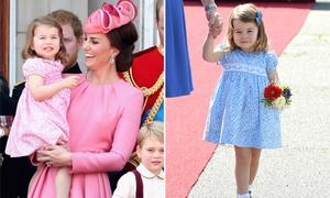 Lý do Công chúa Charlotte luôn mặc váy thêu