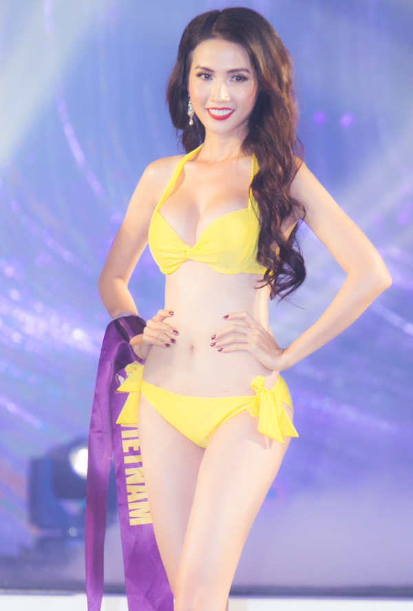 Sau vòng thi này, đại diện Việt Nam được xướng tên vào top 10.