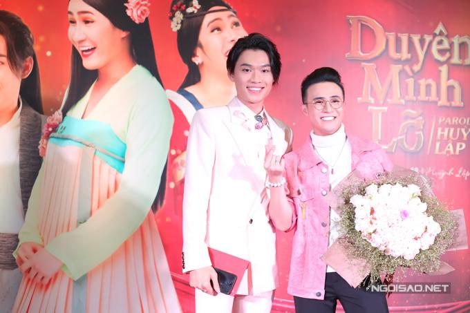 Quang Trung đóng vai nam chính trong MV Duyên mình lỡ bản parody. Anh là bạn thân và từng hợp tác thực hiện nhiều MV hài cùng Huỳnh Lập.